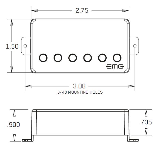EMG-57 размеры