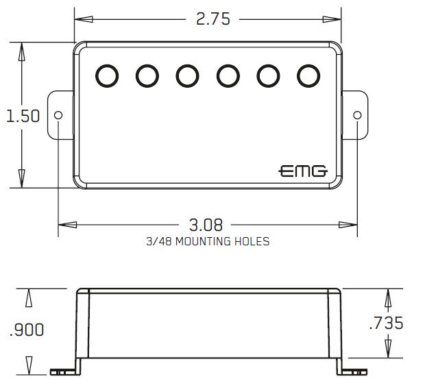 EMG-66 размеры