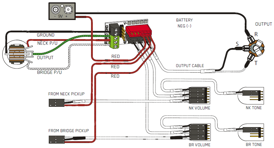 Emg 81 And 85 Wiring Diagram : Emg pickup wiring diagram get free image about