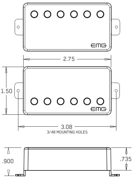 EMG-JH размеры