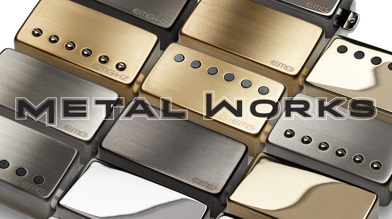 EMG Metal Works - это новый креативные звукосниматели в металлических корпусах. Доступны все модели EMG 81 85 60 и EMG-X 81X 85X 60X.