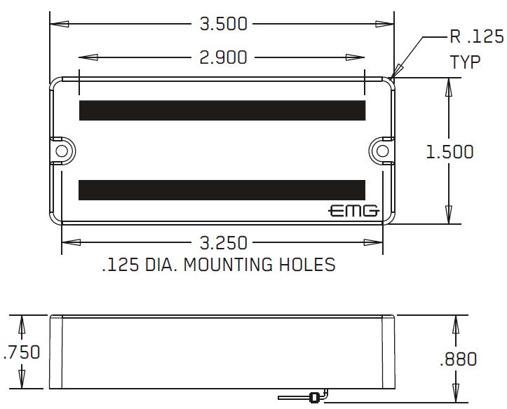 Размеры EMG 707, 81-7, 60-7