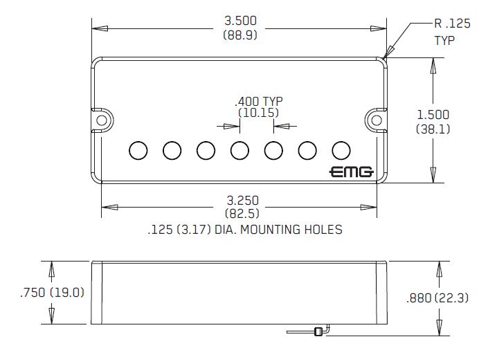 EMG 66-7 размеры